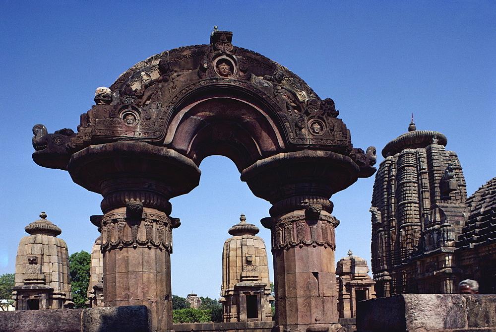 Mukteswara temple, Bhubaneswar, Orissa state, India, Asia - 508-8761