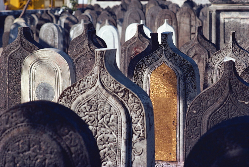 Muslim graves, Maldive Islands, Asia