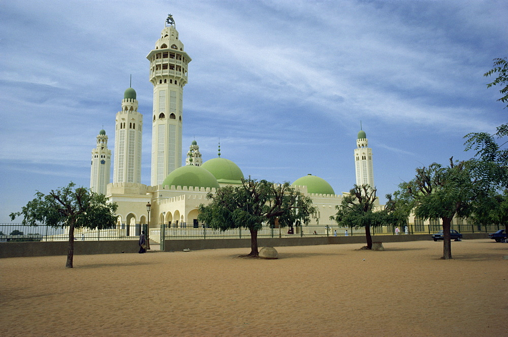 Mosque at Touba, Senegal, West Africa, AFrica - 51-287