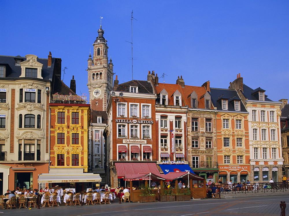 Grand Place, Lille, Nord Pas de Calais, France, Europe