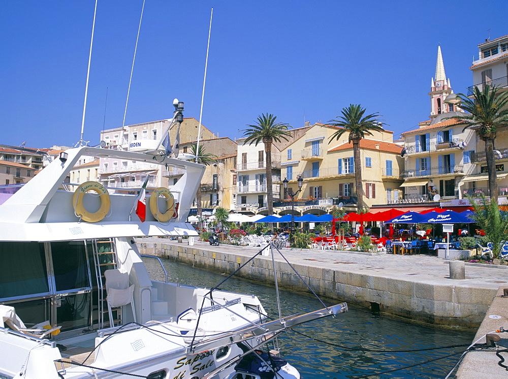 Waterfront, Calvi, island of Corsica, France, Mediterranean, Europe - 526-2701