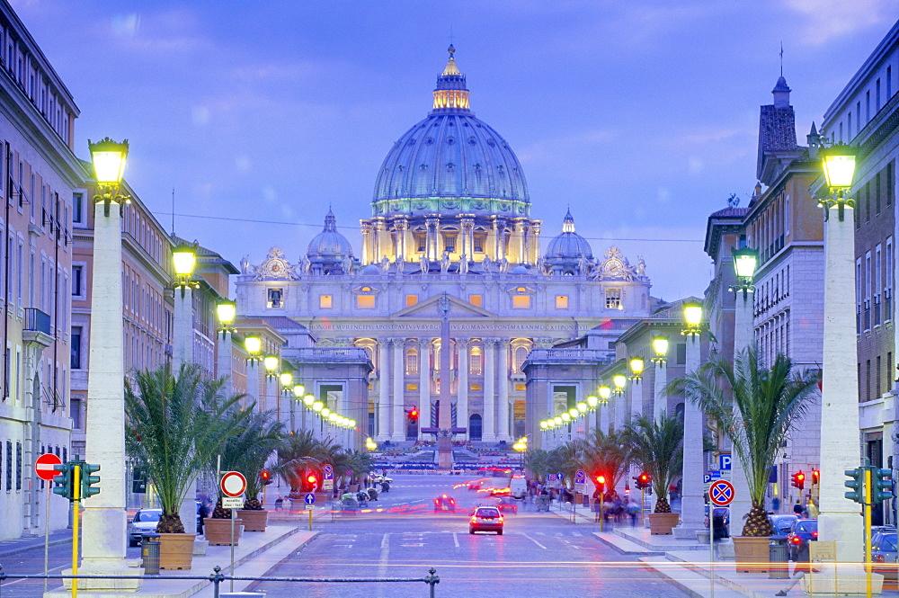 St. Peter's, Vatican, Rome, Lazio, Italy, Europe - 526-3338