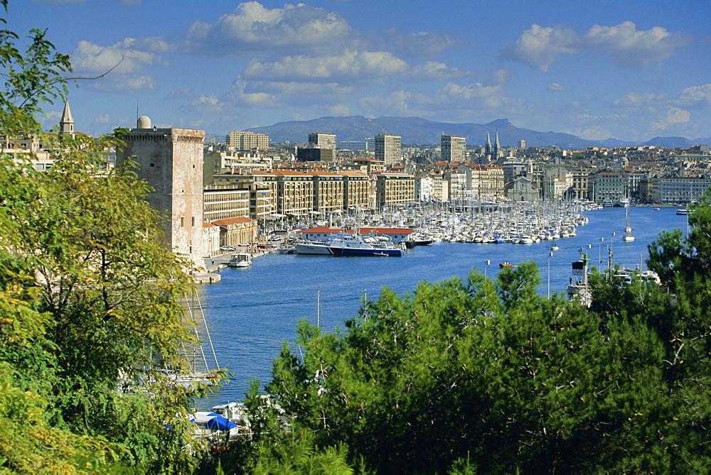 Vieux Port, Marseille, Bouches du Rhone, Provence, France