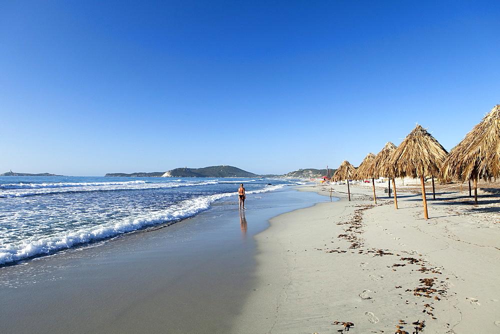 Villasimius Beach, Cagliari Province, Sardinia, Italy, Mediterranean, Europe - 526-3821