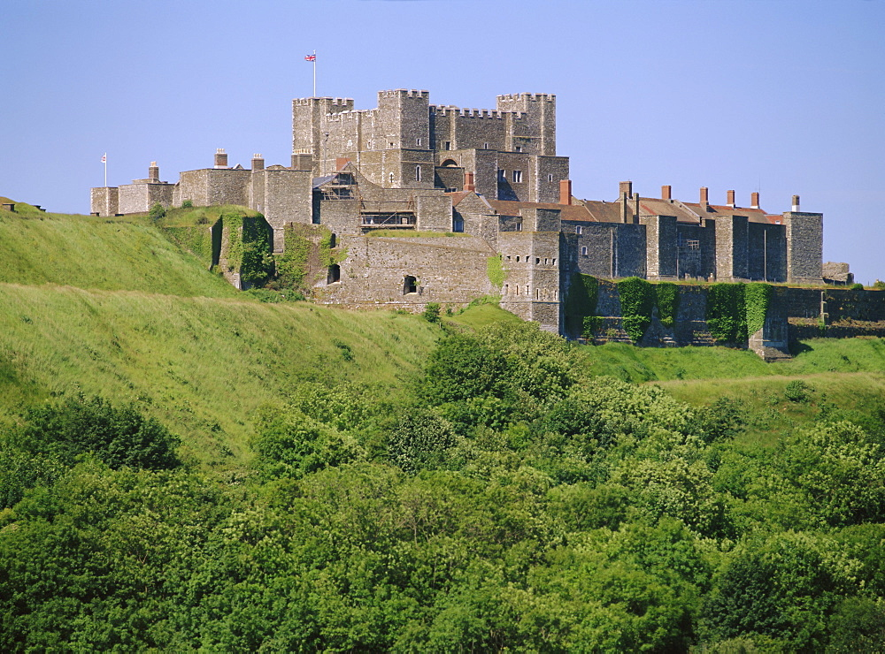 Dover Castle, Dover, Kent, England, UK, Europe