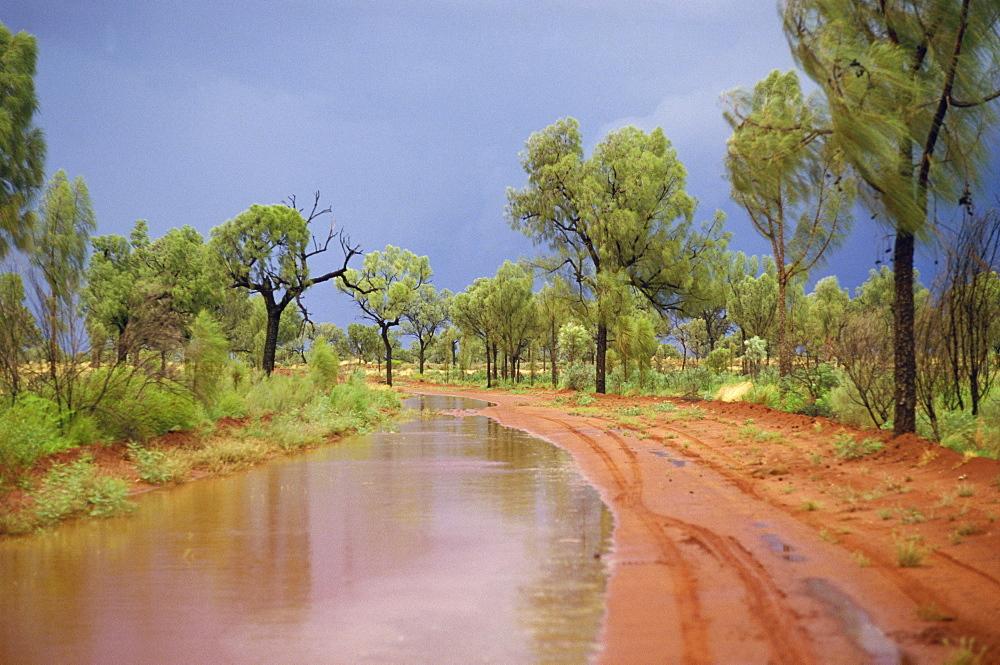 Around Papunya after rain, Northern Territory, Australia, Pacific - 54-5101