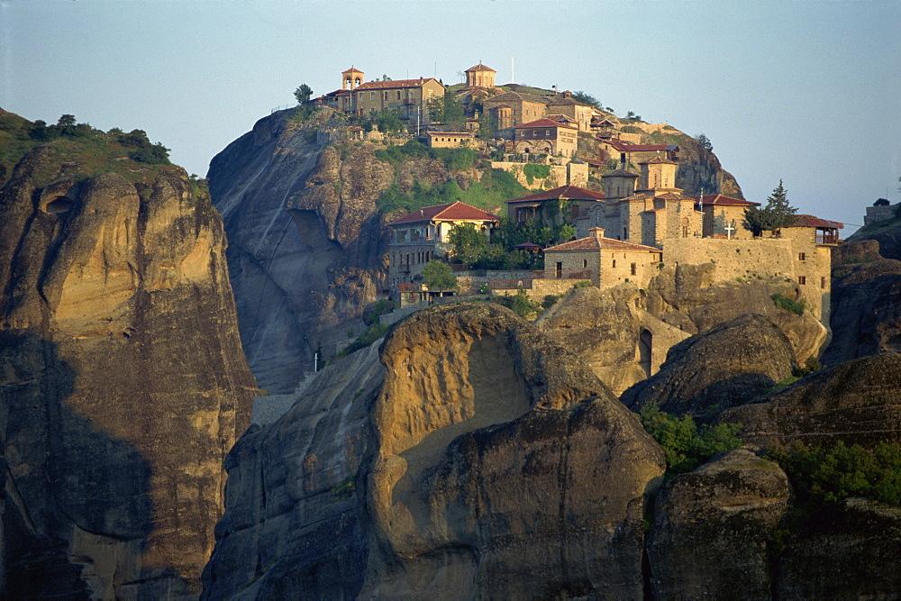 Monastery of Barlam, Meteora, UNESCO World Heritage Site, Greece, Europe
