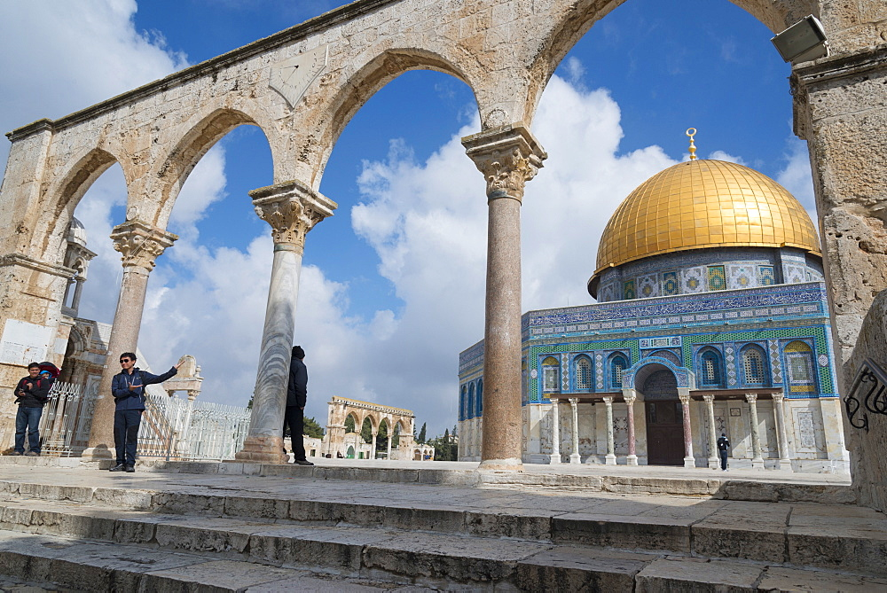 The Dome of the Rock, Jerusalem Old City, Israel, Middle East