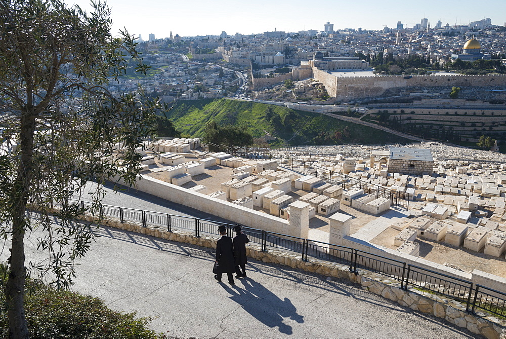 Mount of Olives, Jerusalem, Israel, Middle East