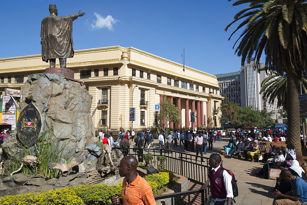Moi avenue, Downtown Nairobi, Kenya, East Africa