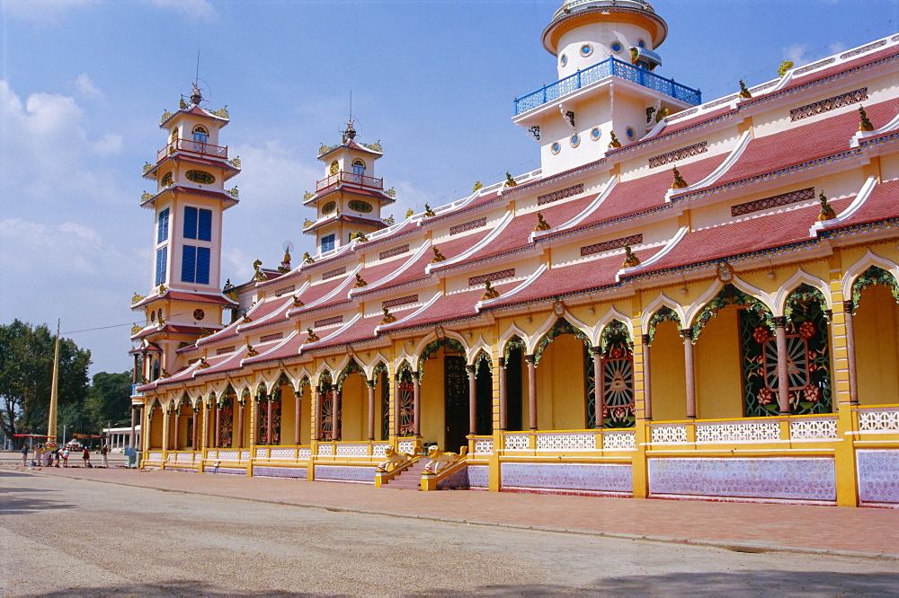 Cao Dai Great Temple, Tay Ninh, Vietnam, Indochina, Southeast Asia, Asia