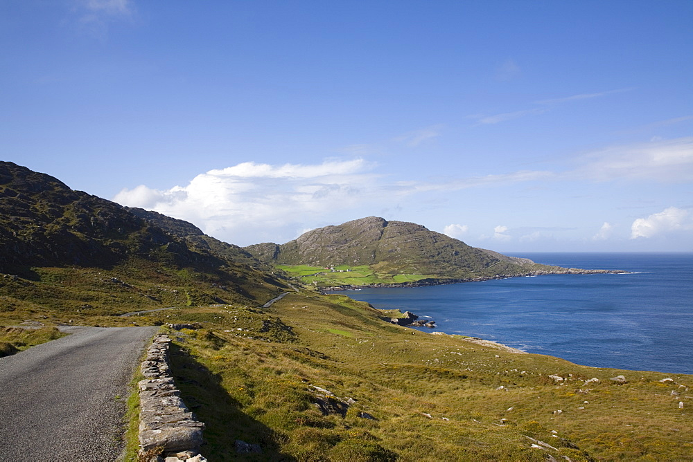Cod's Head, between Urhin and Allihies on Ring of Beara tourist route, Knocknagallaun, Beara Peninsula, County Cork, Munster, Republic of Ireland, Europe - 586-1395