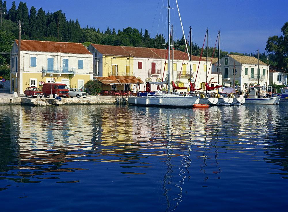 Fiskardo, Kefalonia, Ionian Islands, Greek Islands, Greece, Europe - 59-1216