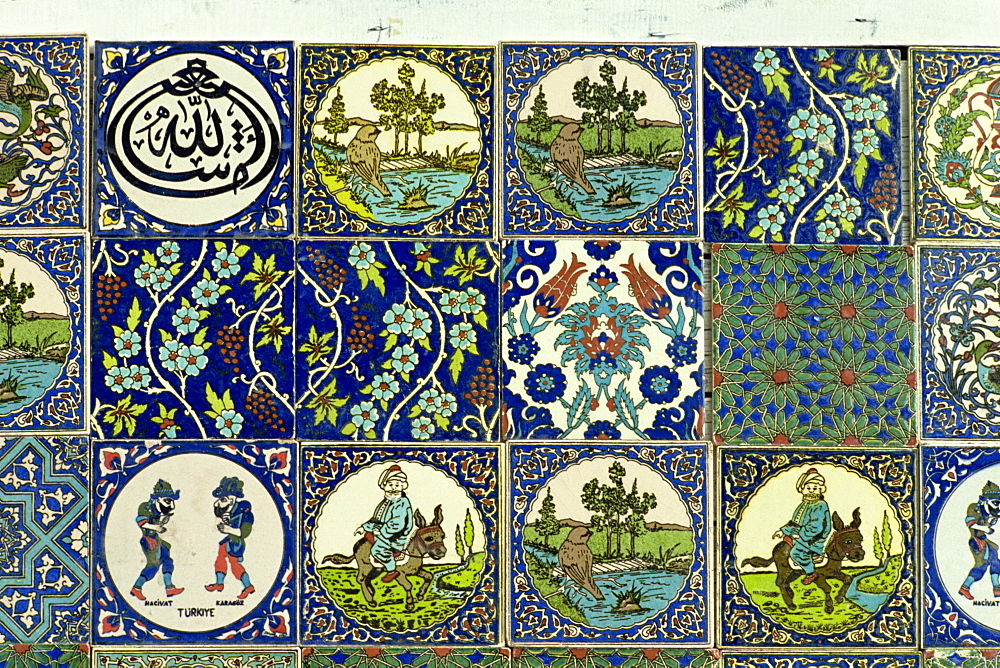 Modern and traditional designs from Tukahya, Anatolia, Turkey, Asia Minor, Eurasia - 59-2374