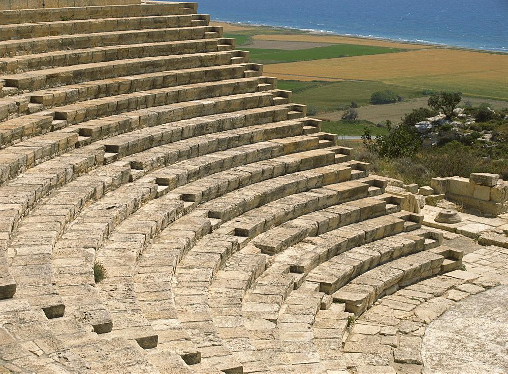 The Theatre, Curium, Cyprus, Europe - 59-2510