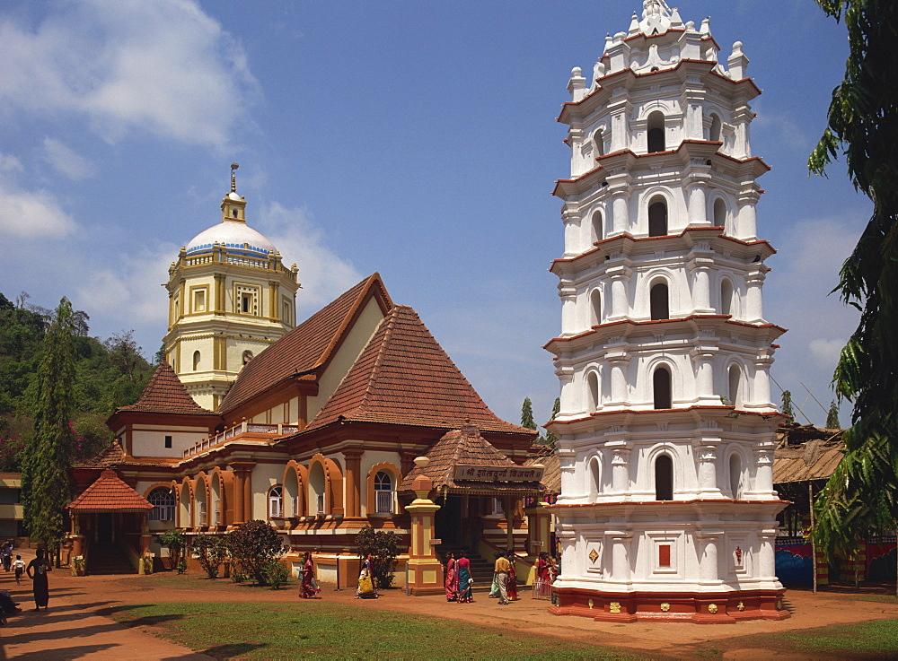 Shantadurga Temple, Quela, Ponda, Goa, India - 59-3241