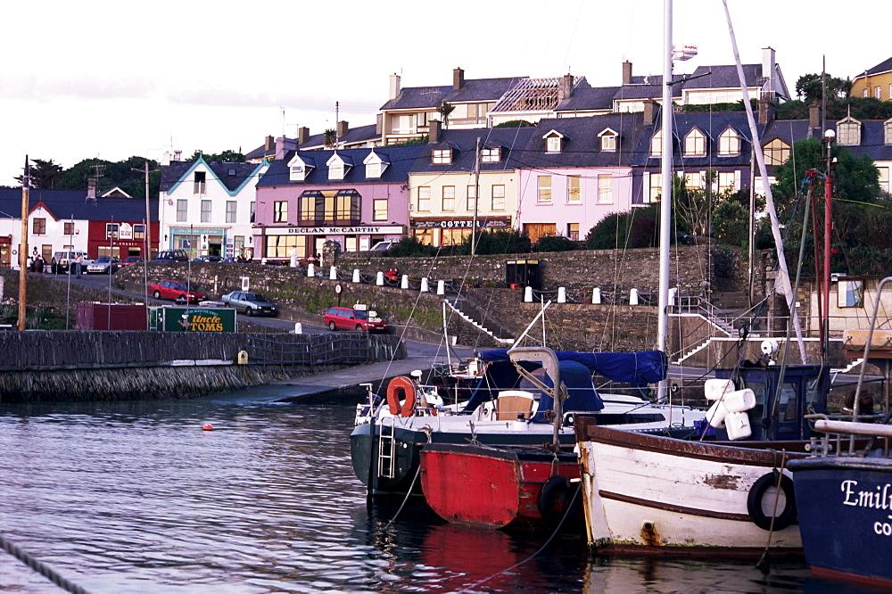 Fishing village, Baltimore, County Cork, Munster, Eire (Republic of Ireland), Europe
