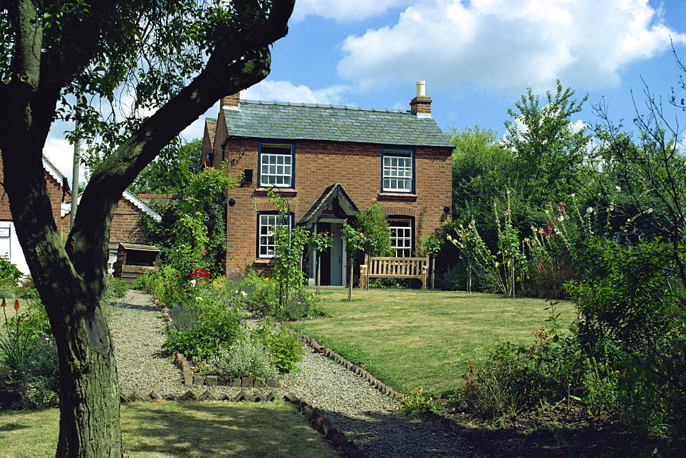 The cottage where Edward Elgar was born in 1857, Lower Broadheath, Worcestershire, England, United Kingdom, Europe - 59-86