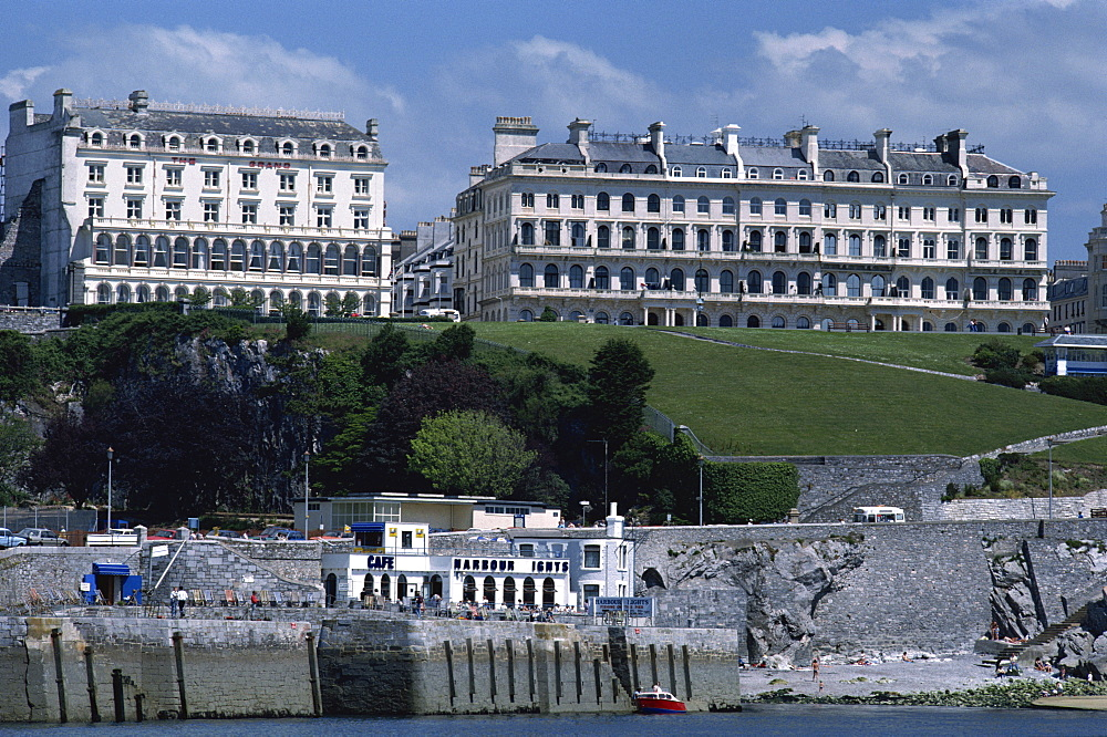 Regency houses including Lady Astor's House, Plymouth Hoe, Plymouth, Devon, England, United Kingdom, Europe