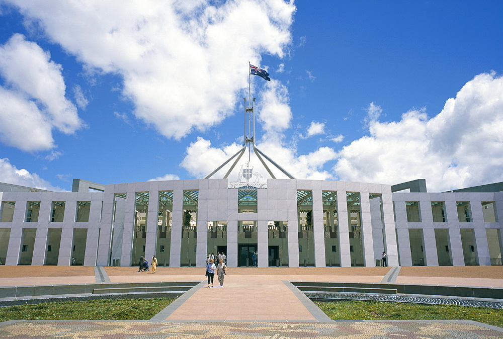 Parliament House, Capital Hill, Canberra, A.C.T. (Australian Capital Territory), Australia, Pacific