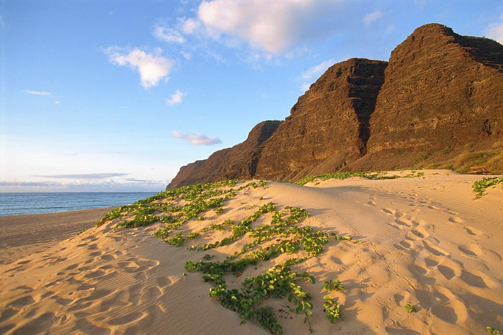 Polihale Beach, Kauai, Hawaii, Hawaiian Islands, United States of America, Pacific, North America - 615-597