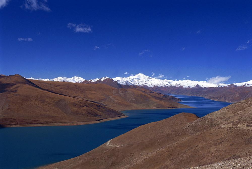 Yamdrok lake, Tibet, China, Asia - 615-611