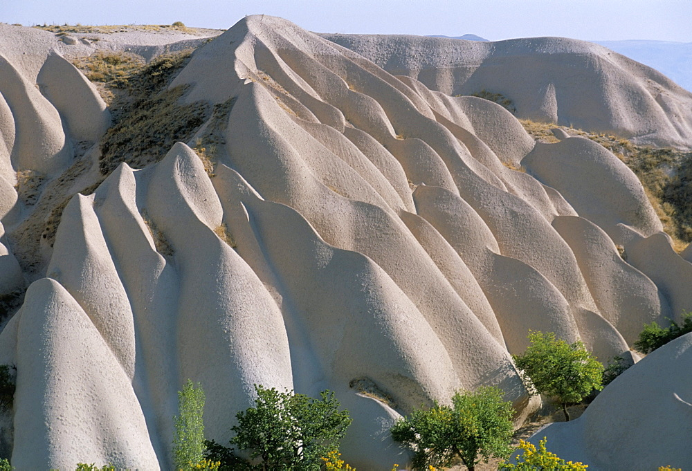 Rock formations, Cappadocia, Anatolia, Turkey, Asia Minor, Asia