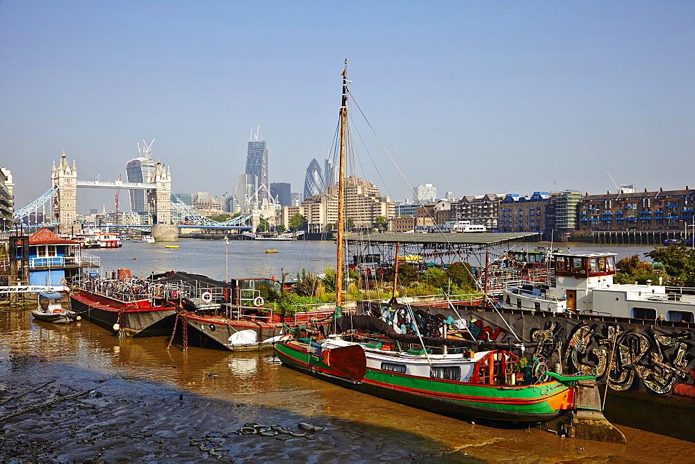 Tower Bridge, The City of London, England, United Kingdom, Europe - 627-1248