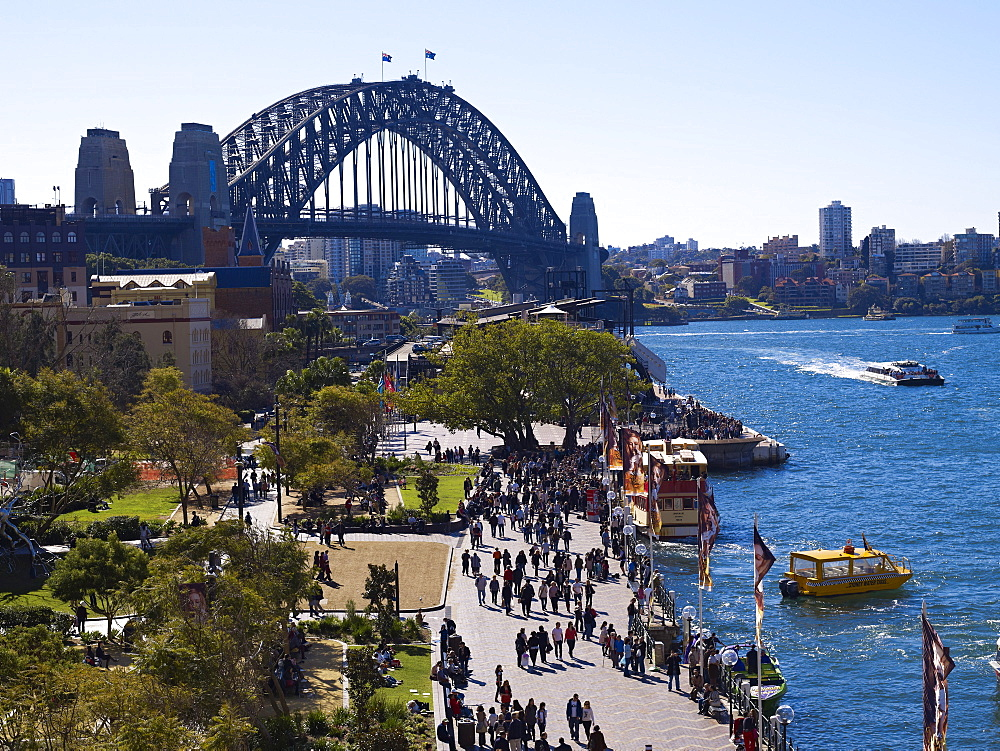 Circular Quay, Sydney, New South Wales, Australia, Pacific - 627-1264