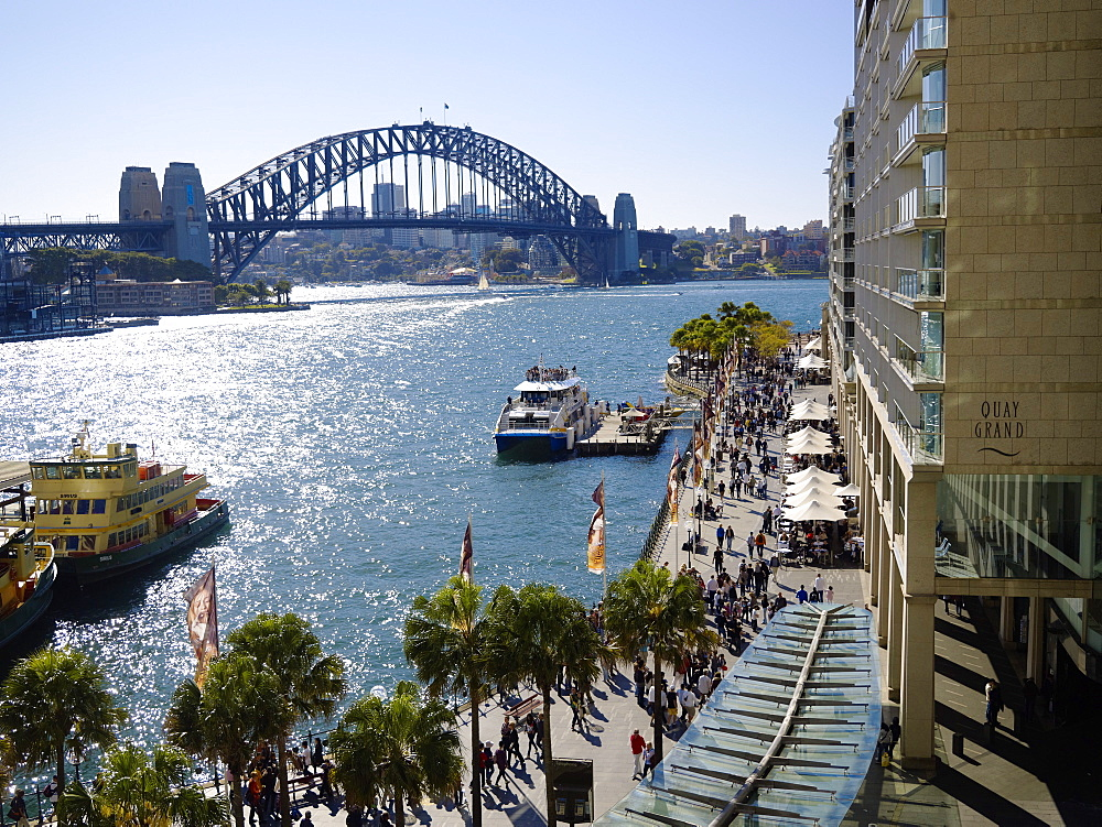 Circular Quay, Sydney, New South Wales, Australia, Pacific - 627-1265