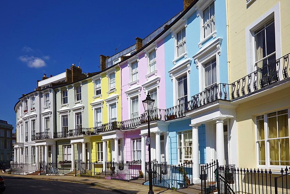 A street in Primrose Hill, London, England, United Kingdom, Europe - 627-1295