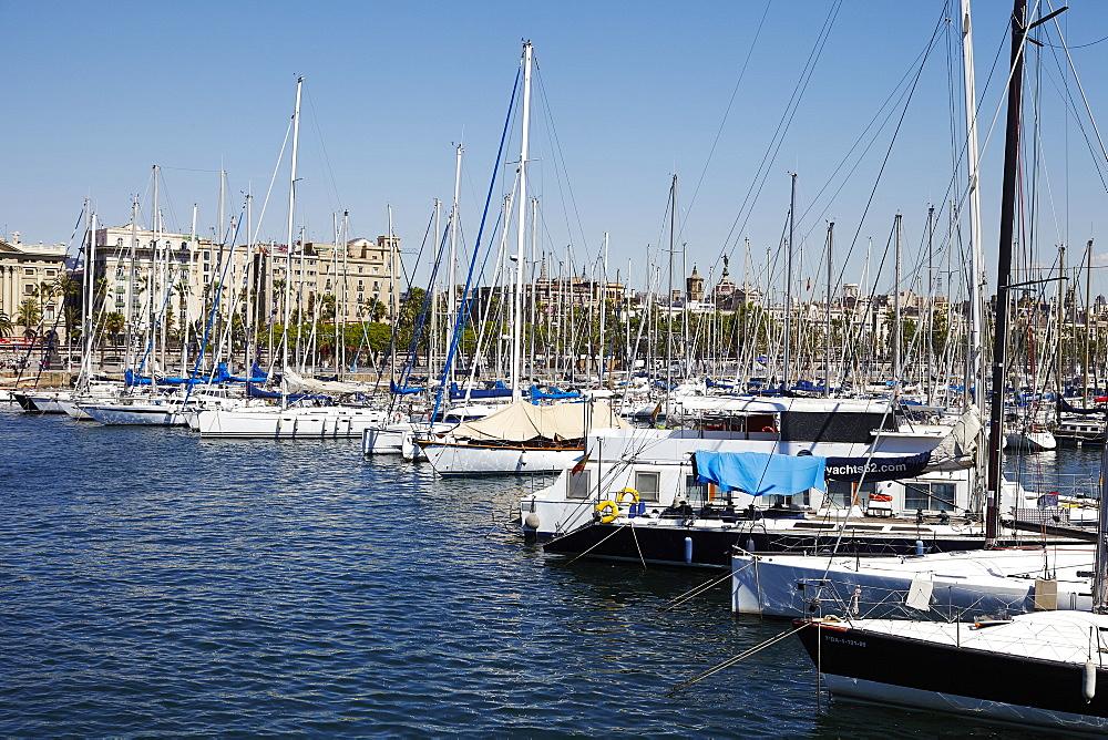 Barcelona Marina, Barcelona, Catalonia, Spain, Europe - 627-1311