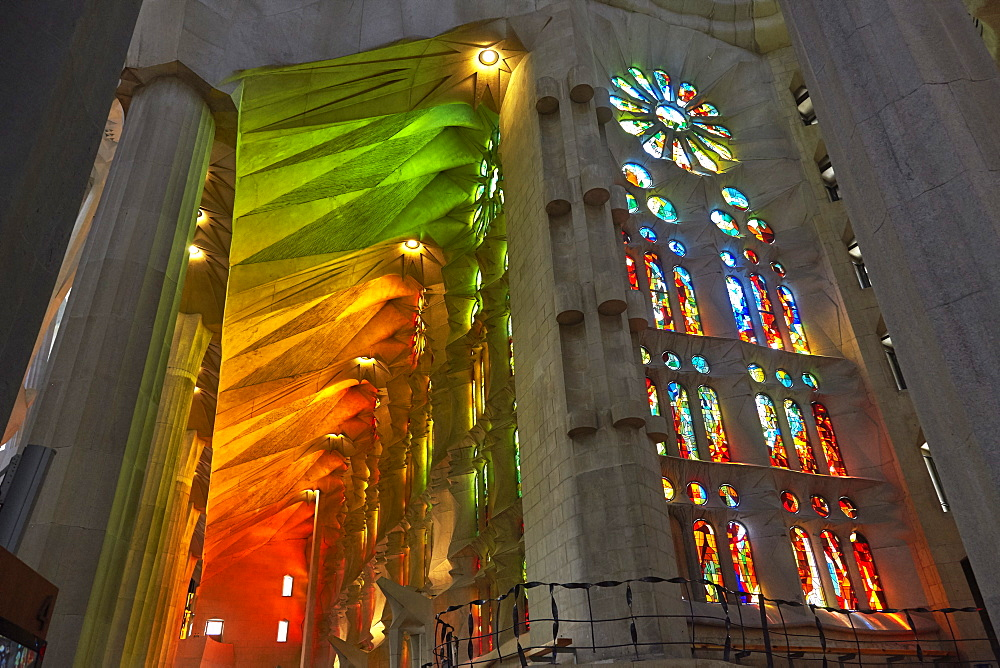 Sagrada Familia, UNESCO World Heritage Site, Barcelona, Catalonia, Spain, Europe - 627-1317