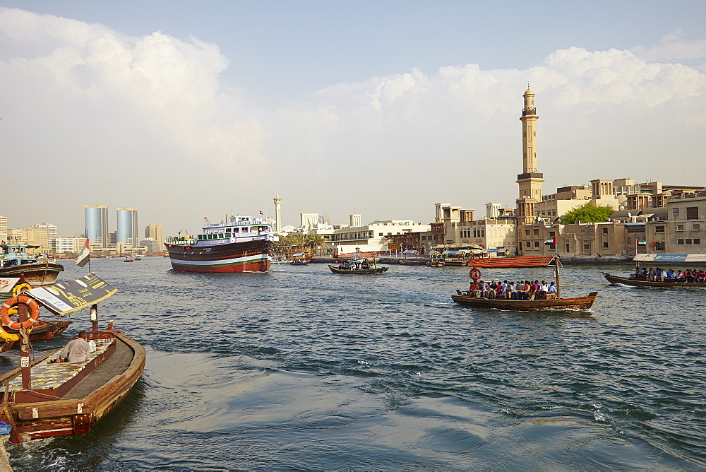 Dubai Creek, Dubai, United Arab Emirates, Middle East - 627-1323