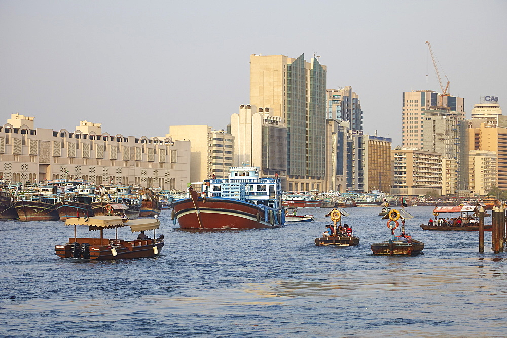 Dubai Creek, Dubai, United Arab Emirates, Middle East - 627-1325
