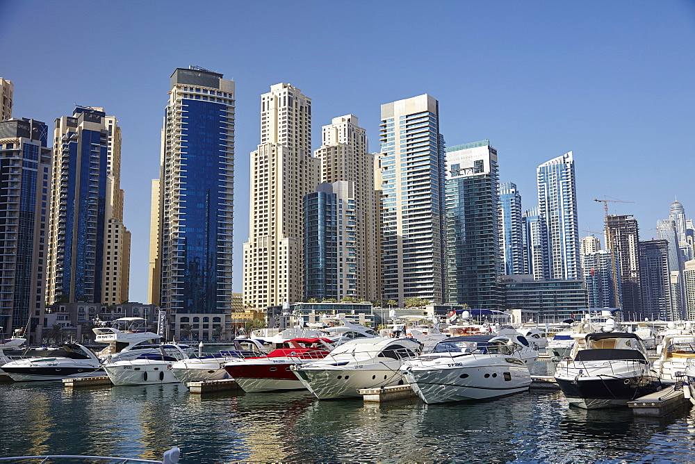 Dubai Marina, Dubai, United Arab Emirates, Middle East - 627-1326