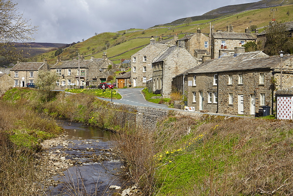 Muker, Upper Swaledale, North Yorkshire, Yorkshire, England, United Kingdom, Europe - 627-1330