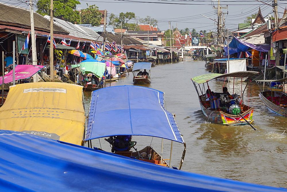 Amphawa Floating Market, Bangkok, Thailand, Southeast Asia, Asia - 627-1350