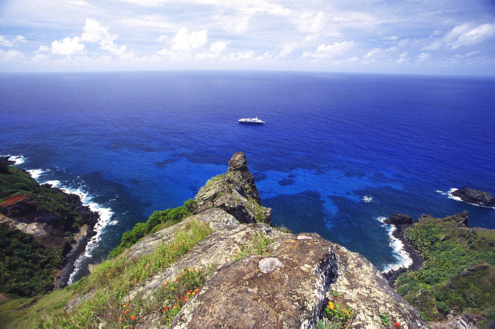 St. Paul's Point, Bounty Bay, Pitcairn Island