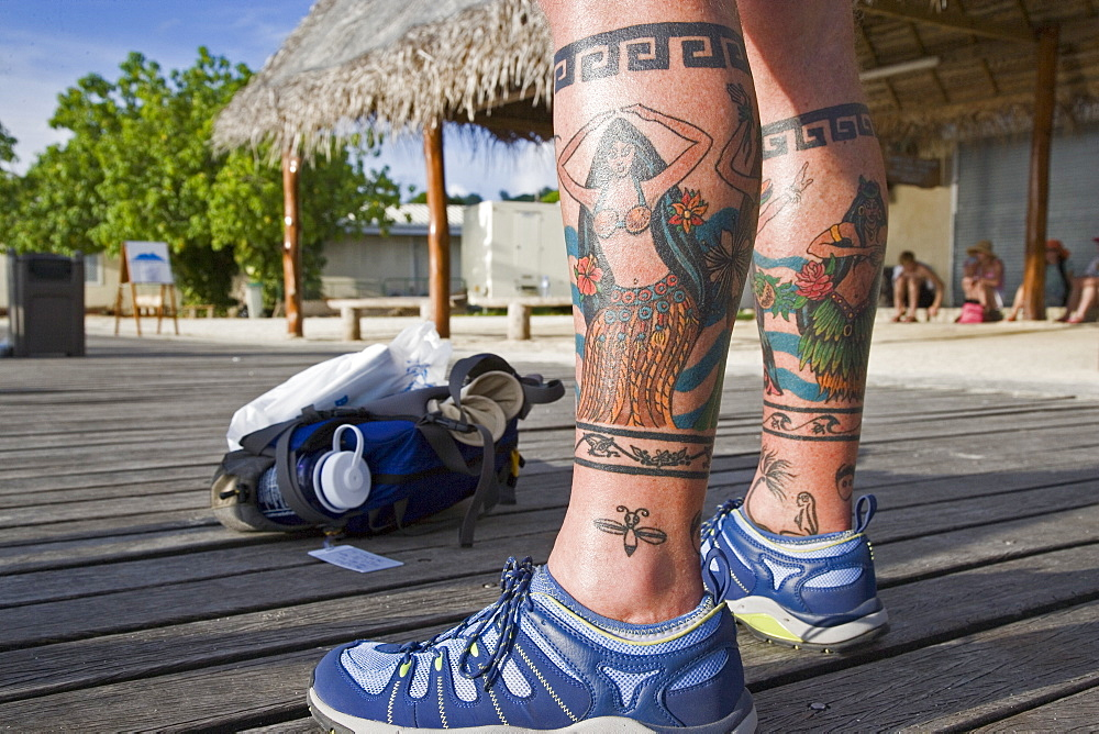 Tatoo, Bora Bora, French Polynesia