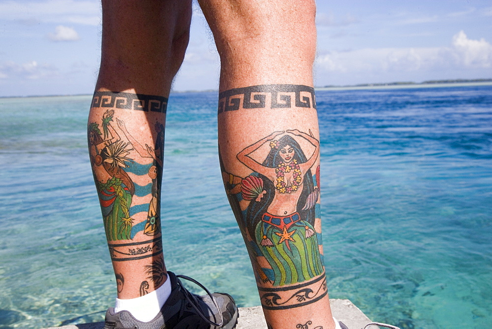 Tatoo, Takaroa, Tuamotu Islands, French Polynesia