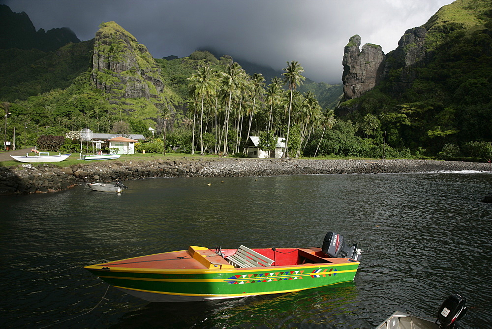 Hanavave, Island of Fatu Hiva, Marquesas Islands, French Polynesia