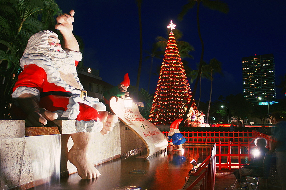 Santa Claus, Hawaii