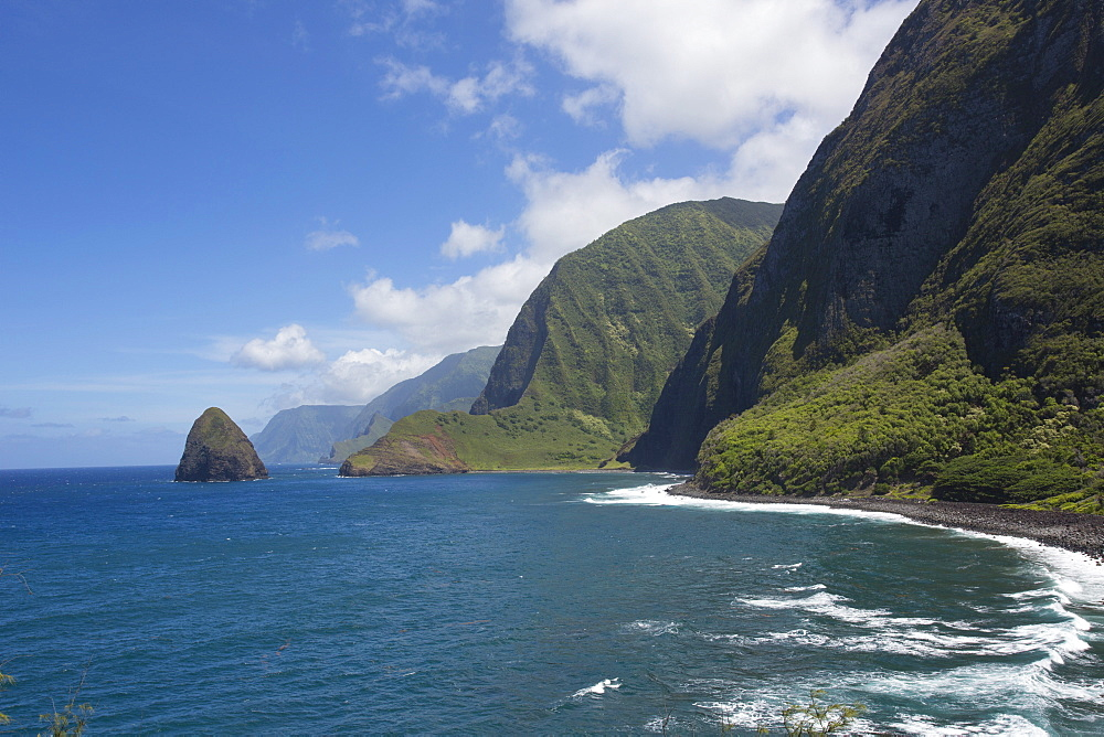 Kalaupapa Peninsula, Molokai, Hawaii, United States of America, Pacific - 632-5240