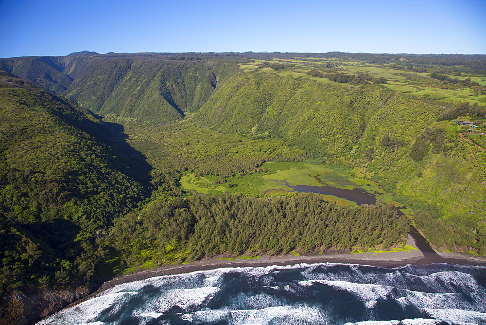 Waipio Valley, North Kohala, Big Island of Hawaii, United States of America, Pacific