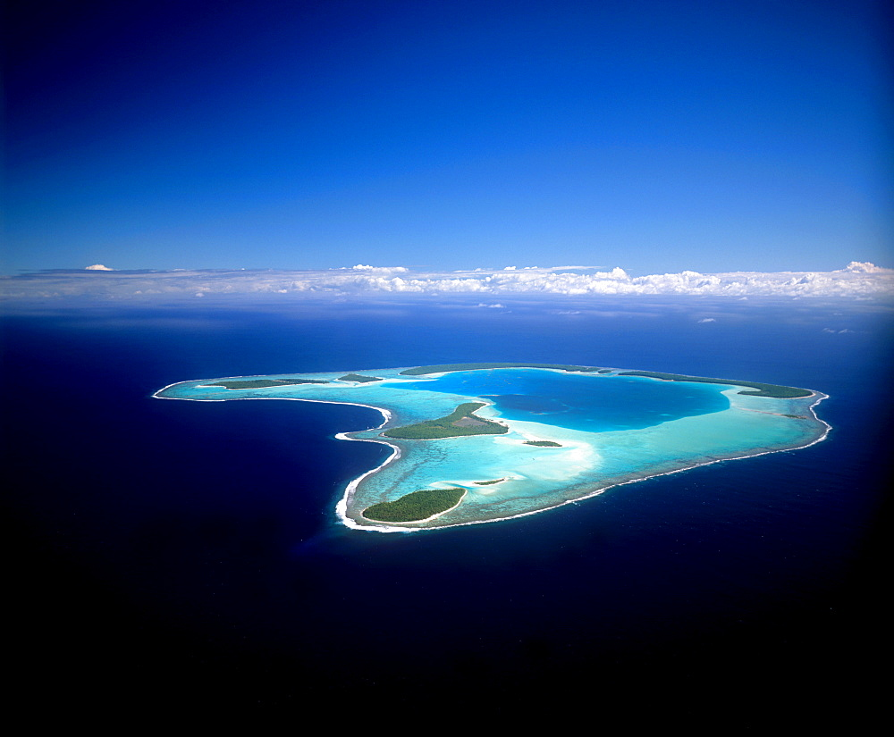 Tetiaroa, Society Islands, French Polynesia, Pacific - 632-5557