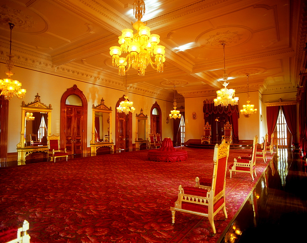 Iolani Palace, Honolulu, Oahu, Hawaii, United States of America, Pacific