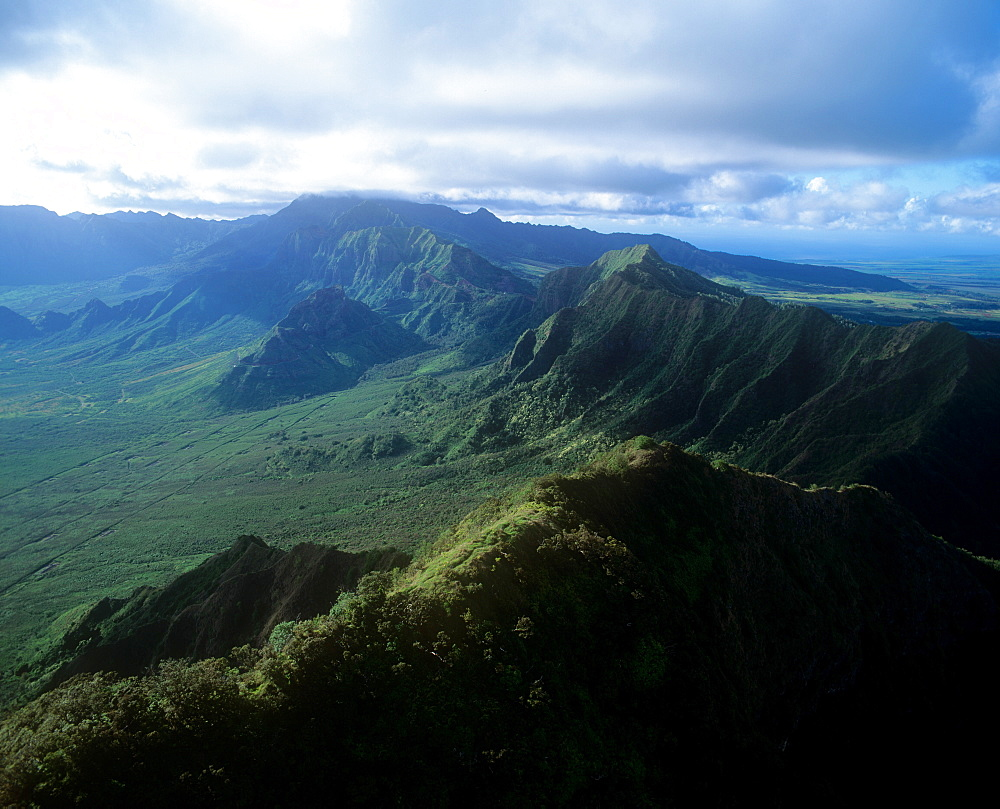 Waianae Mountains, Oahu, Hawaii, United States of America, Pacific - 632-5610