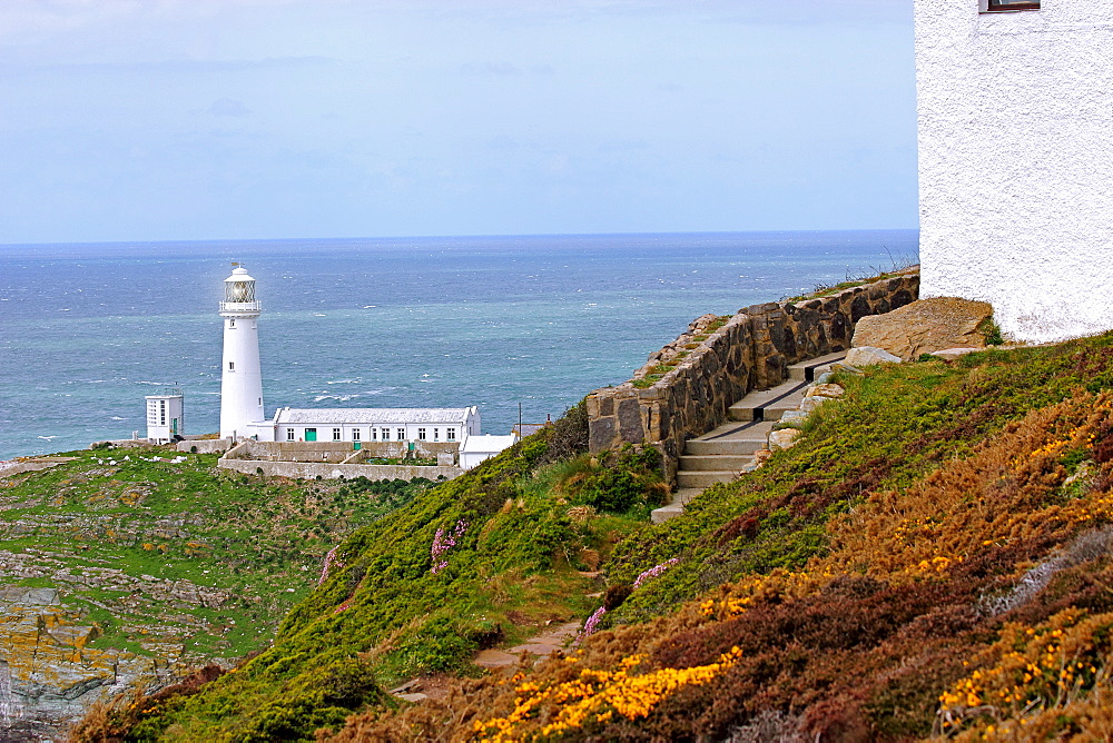 South Stack (Ynys Lawd), an island situated just off Holy Island on the North West coast of Anglesey, Wales, United Kingdom, Europe - 64-1367
