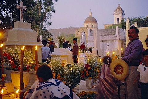 Day of the Dead, Acatlan, Mexico, Central America - 640-1084